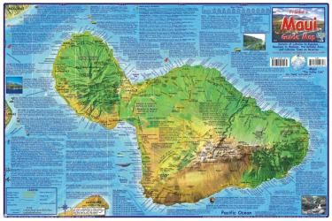 Maui Guide Map, Laminated by Frankos Maps Ltd.