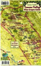 Sonoma Valley Wine Grapes Card by Frankos Maps Ltd.