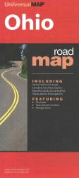 Ohio Road Map by Kappa Map Group