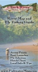 Clinch River Map and Fly Fishing Guide by Fishwater Maps
