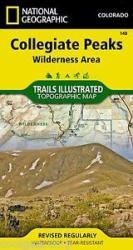 Collegiate Peaks Wilderness, Map 148 by National Geographic Maps