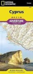 Cyprus Adventure Map 3318 by National Geographic Maps