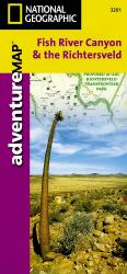 Fish River Canyon and the Richtersveld Adventure Map 3201 by National Geographic Maps