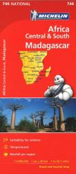 Madagascar and Africa, Central and South (746) by Michelin Maps and Guides
