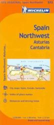 Asturias and Cantabria, Spain (572) by Michelin Maps and Guides