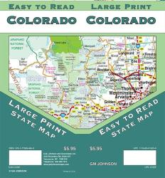 Colorado State, Large Print + Easy to Read by GM Johnson