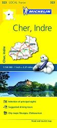 Cher, Indre (323) by Michelin Maps and Guides