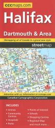 Halifax, Dartmouth and Area Street Map by Canadian Cartographics Corporation