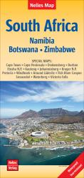 South Africa, Namibia, Zimbabwe, and Botswana by Nelles Verlag GmbH
