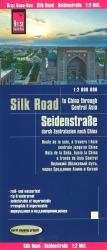 Silk Road Map by Reise Know-How Verlag