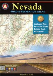 Nevada Road and Recreation Atlas by Benchmark Maps