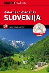 Slovenia Road Atlas by Kartografija