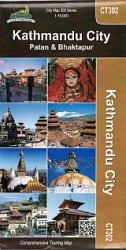 Kathmandu, Nepal City Map : Patan & Bhaktapur by Himalayan MapHouse Pvt. Ltd
