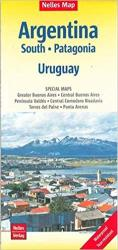 Argentina South, Patagonia, and Uruguay by Nelles Verlag GmbH