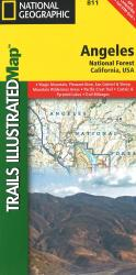 Angeles National Forest, California, Map 811 by National Geographic Maps