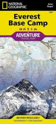 Everest Base Camp, Nepal, Adventure Map 3001 by National Geographic Maps