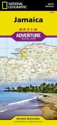 Jamaica Adventure Map by National Geographic Maps