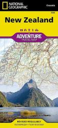 New Zealand Adventure Map 3500 by National Geographic Maps