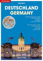 Germany, Road Atlas Travelmag (German/English ed) by Kunth Verlag