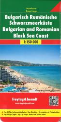 Bulgarian / Romanian Black Sea Coast by Freytag, Berndt und Artaria