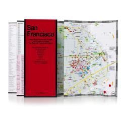 San Francisco, California by Red Maps