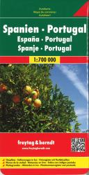 Spain and Portugal by Freytag, Berndt und Artaria
