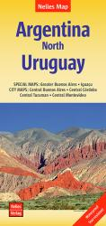 Argentina, North and Uruguay by Nelles Verlag GmbH
