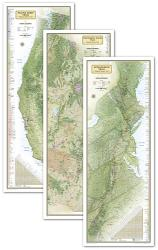 Wall Map of THE APPALACHIAN TRAIL 18x48 Rolled NATIONAL GEOGRAPHIC POSTER