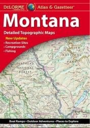Montana Atlas and Gazetteer by DeLorme