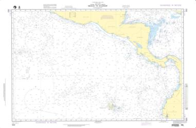NGA Nautical Chart (503) by National Geospatial-Intelligence Agency