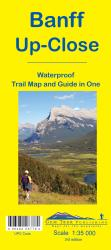 Banff, Up-Close Trail Map and Guide (waterproof) by Gem Trek