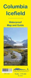 Columbia Icefield Map and Guide (waterproof) by Gem Trek