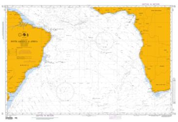South America To Africa (NGA-22-1) by National Geospatial-Intelligence Agency