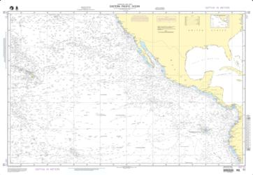 Eastern Pacific Ocean (NGA-51-1) by National Geospatial-Intelligence Agency