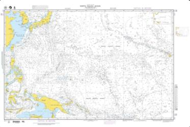 North Pacific Ocean - Southwestern Part (NGA-52-1) by National Geospatial-Intelligence Agency