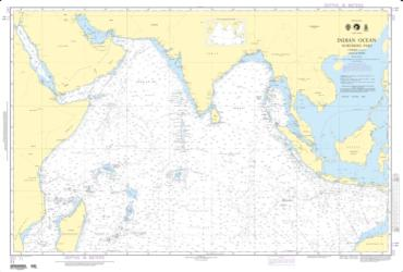Indian Ocean - Northern Portion (NGA-71-4) by National Geospatial-Intelligence Agency