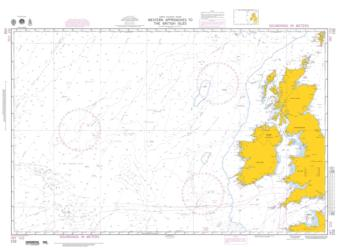 Western Approaches To The British Isles (NGA-102-5) by National Geospatial-Intelligence Agency