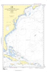 North Atlantic Ocean - Southeast Coast Of North America (NGA-108-9) by National Geospatial-Intelligence Agency