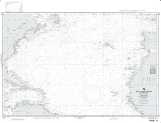 North Atlantic Ocean - Southern Sheet (NGA-120-6) by National Geospatial-Intelligence Agency