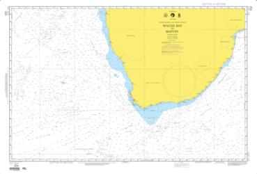 Walvis Bay To Maputo Nautical Chart (204) by National Geospatial-Intelligence Agency