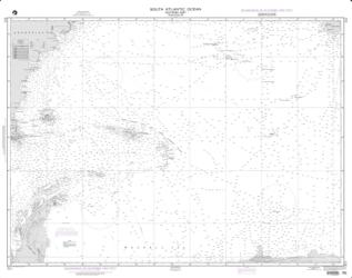 South Atlantic Ocean - Southern Part (NGA-211-5) by National Geospatial-Intelligence Agency