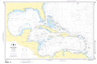 West Indies (NGA-400-3) by National Geospatial-Intelligence Agency