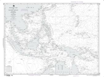 Pacific Ocean: Western Part Including The Philppines (NGA-524-12) by National Geospatial-Intelligence Agency