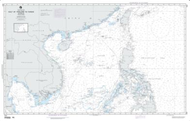 Gulf Of Thailand To Taiwan Including The Philippines (NGA-550-7) by National Geospatial-Intelligence Agency