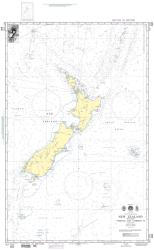 New Zealand, Including Norfolk And Campbell Islands (NGA-600-5) by National Geospatial-Intelligence Agency