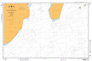 Port Elizabeth To Mauritius (NGA-700-4) by National Geospatial-Intelligence Agency