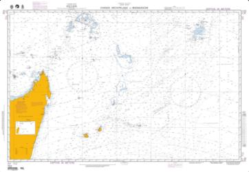 Chagos Archipelago To Madagascar (NGA-702-5) by National Geospatial-Intelligence Agency