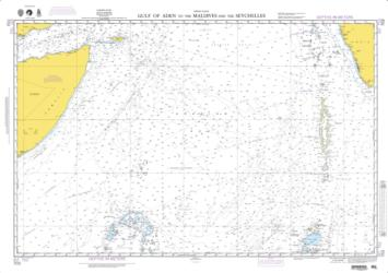 Gulf Of Aden To Maldives And Seychelles Islands (NGA-703-4) by National Geospatial-Intelligence Agency