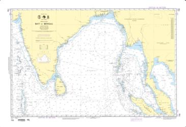 Indian Ocean - Bay Of Bengal (NGA-706-4) by National Geospatial-Intelligence Agency