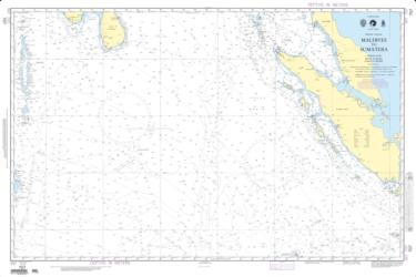 Maldives To Sumatera (Indian Ocean) (NGA-707-2) by National Geospatial-Intelligence Agency
